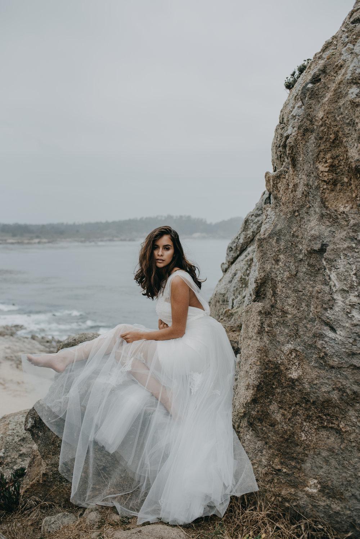 natural wedding bridal makeup and hair