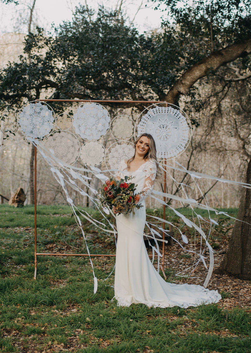 dream catcher wedding outdoor wedding decorations boho wedding