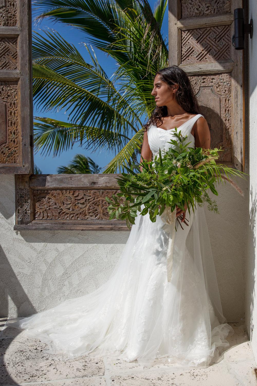 turks and caicos wedding photoshoot