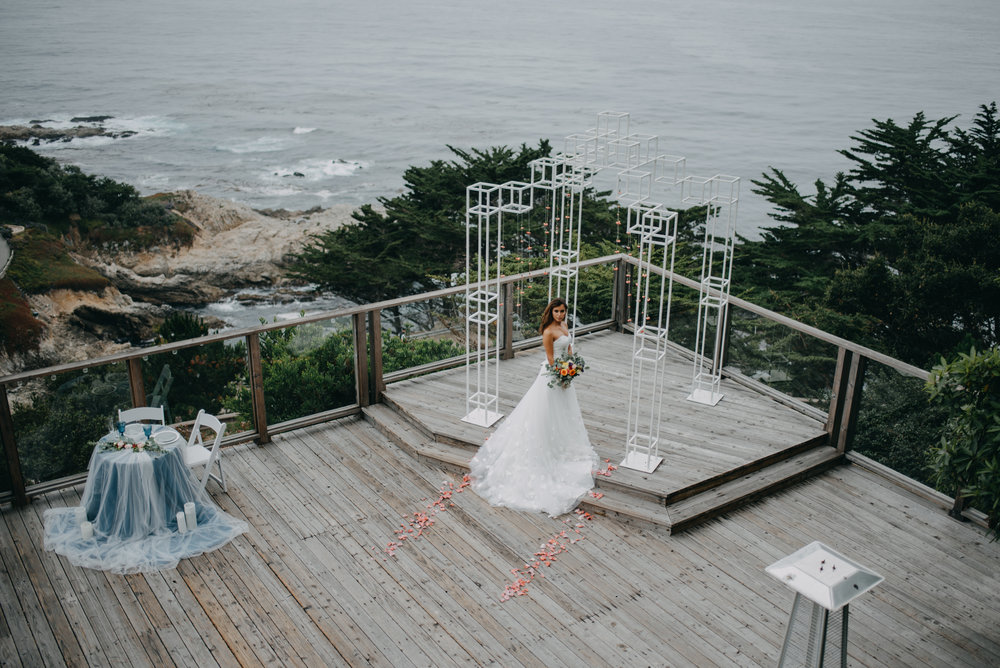 drone wedding photography