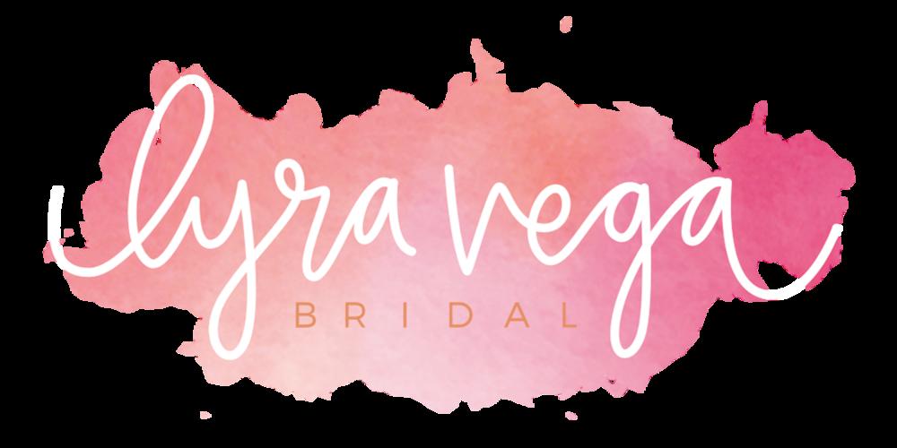 lyra vega bridal logo rebranding designing