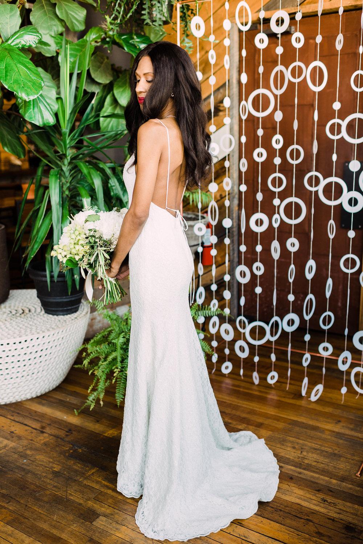 sweep train wedding dress simple sheath fit slip style wedding dress