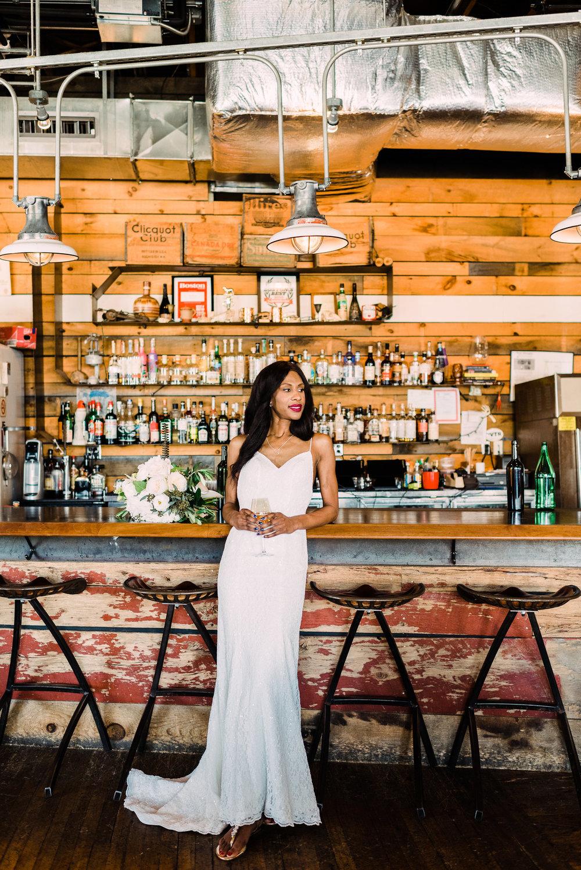 unique wedding venue bar wedding