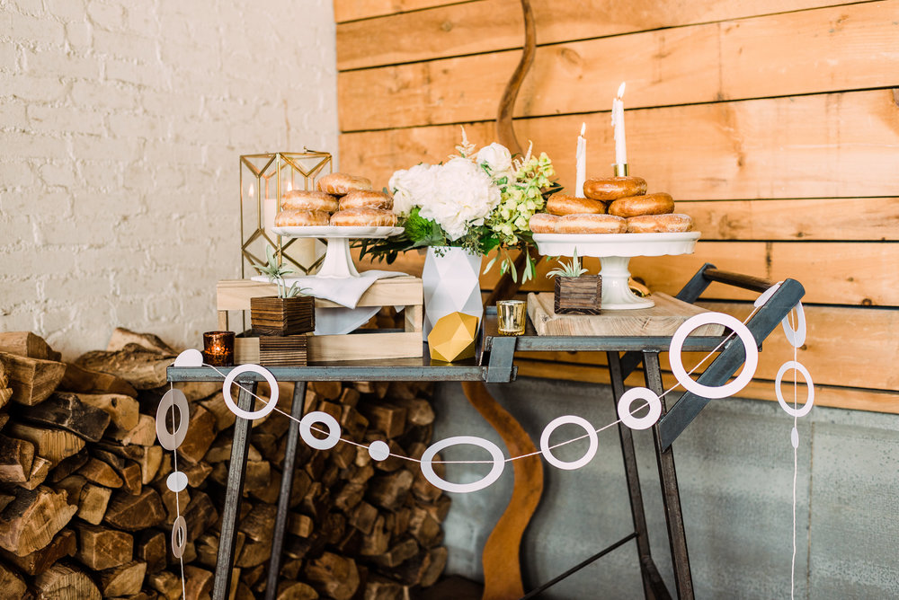 small wedding donuts for wedding catering open bars for wedding
