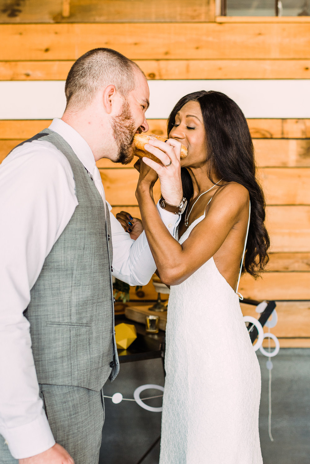wedding catering donuts for summer fun wedding