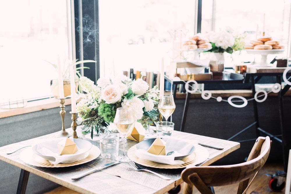 small open bar wedding venue