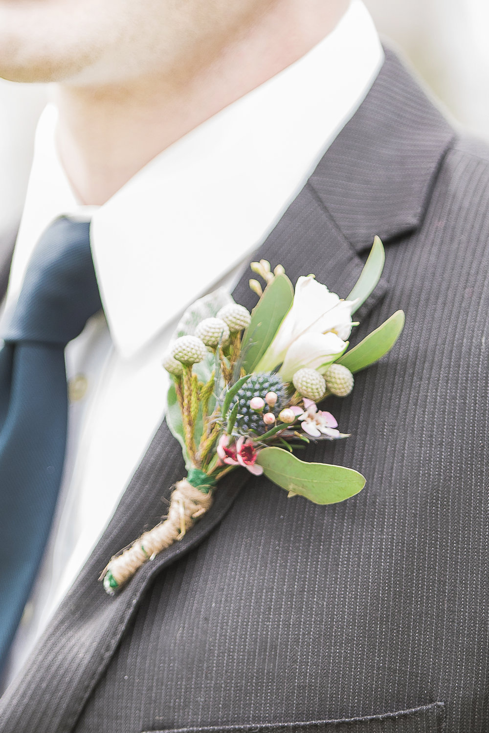 seasonal matching boutonnière