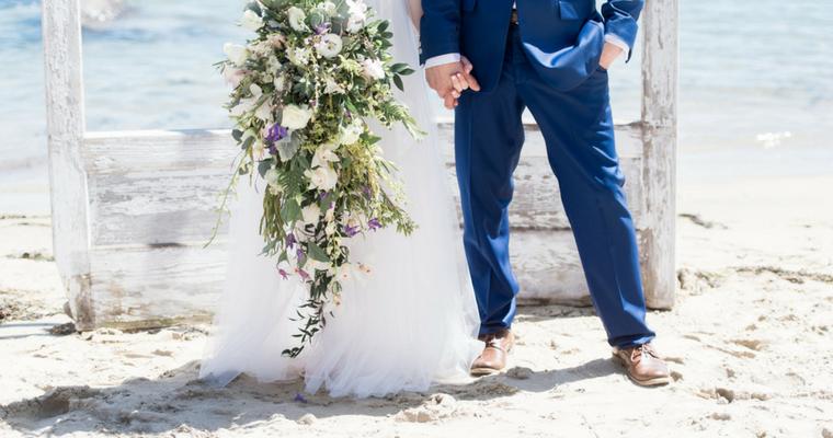 coastal elopment featured on wedding boston lightweight wedding dress for summer wedding
