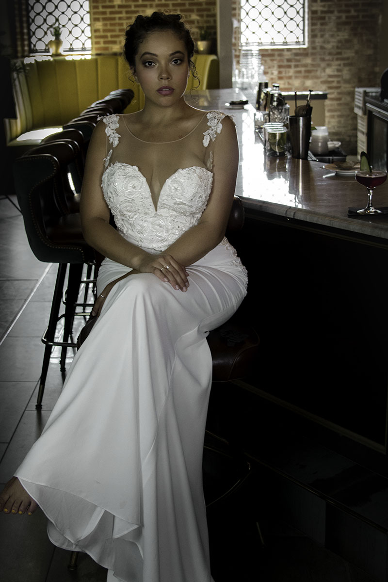 woman behind the gown tasha gonzalez