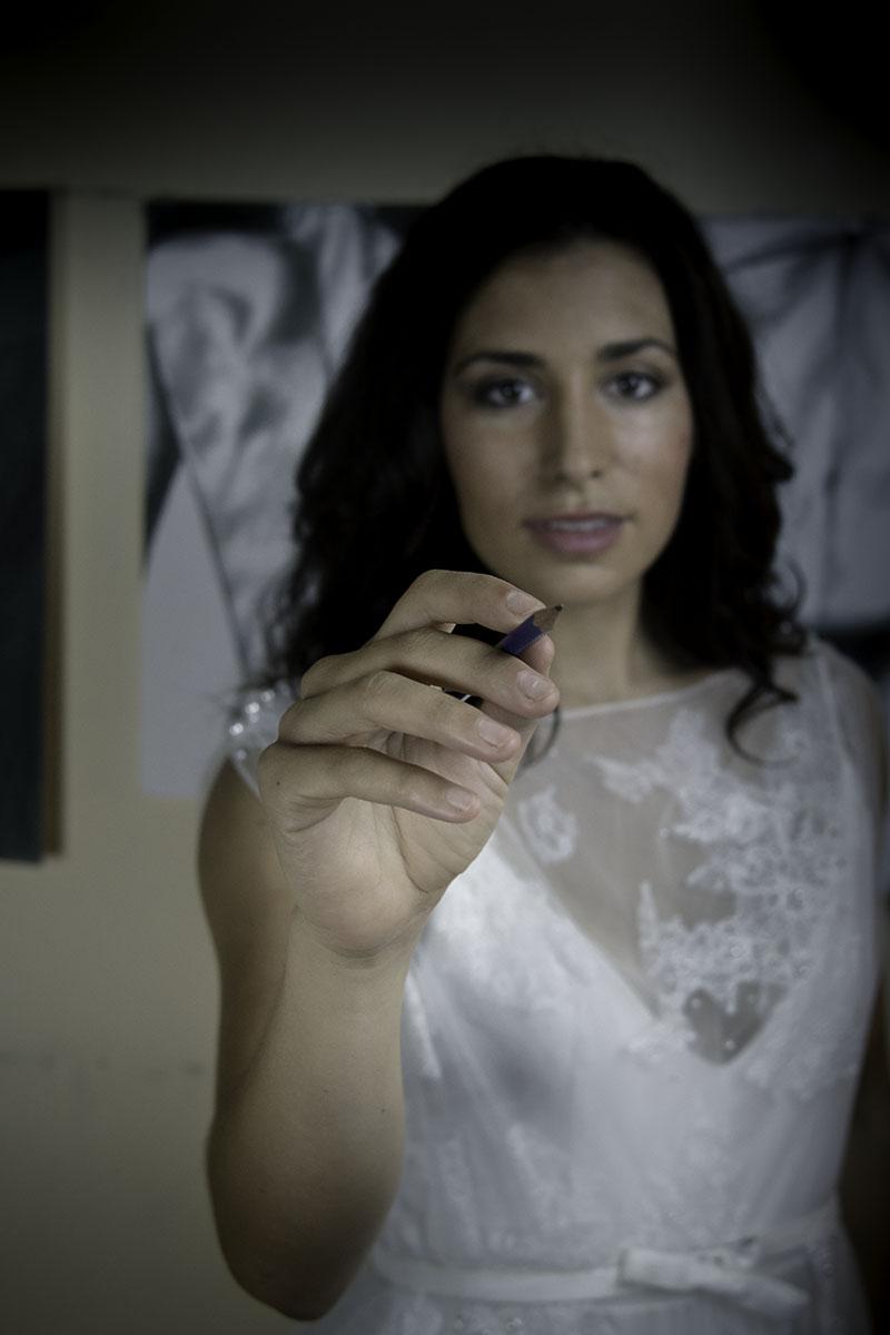 modern bride artist bride