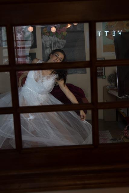 empowered bride women empowerment comfortable wedding dress