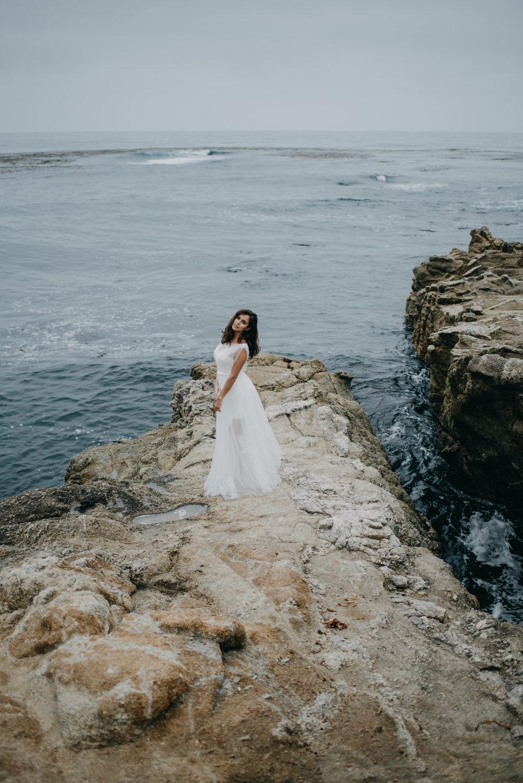simple unique two piece wedding dress, casual wedding dress affordable wedding dress under $500