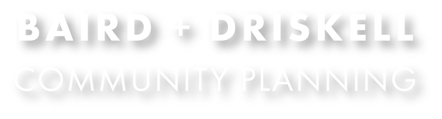 Baird + Driskell Community Planning