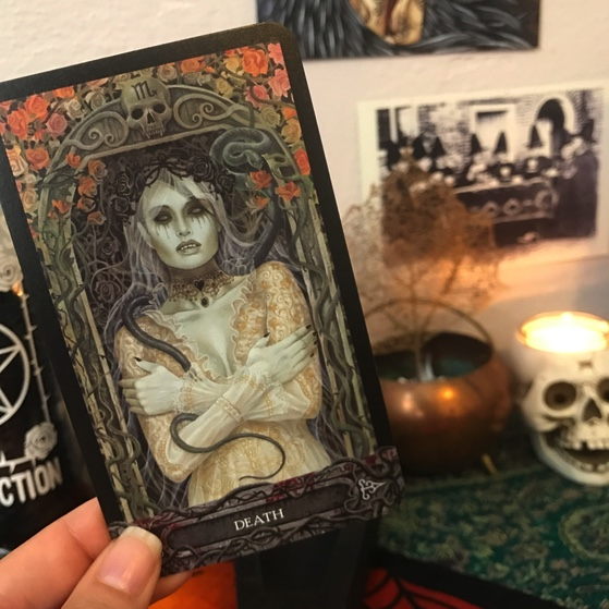 Death from Tarot of Vampires
