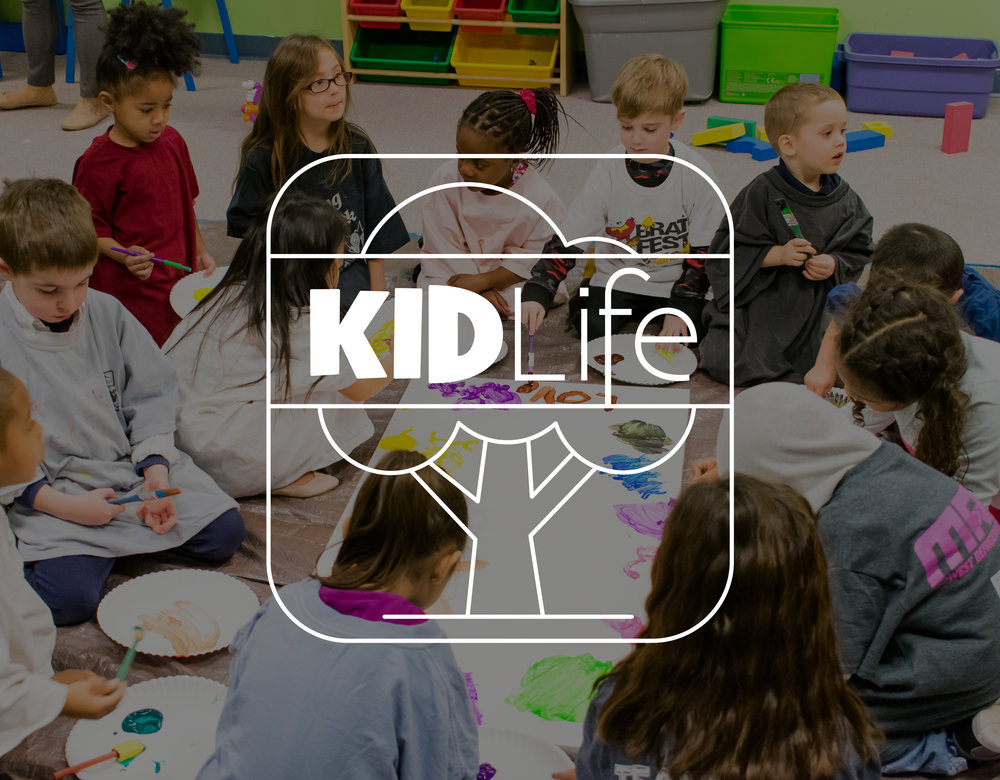 KidLife - Our KIDLife Team offers a safe and nurturing environment for our children to experience and learn about God's love and power. We believe children can relate to God at young ages so we are equipping them with tools to recognize His voice and Presence so they can change the world!Your child's safety is our priority, so we use a check-in/check-out system and every volunteer passes a detailed background check.