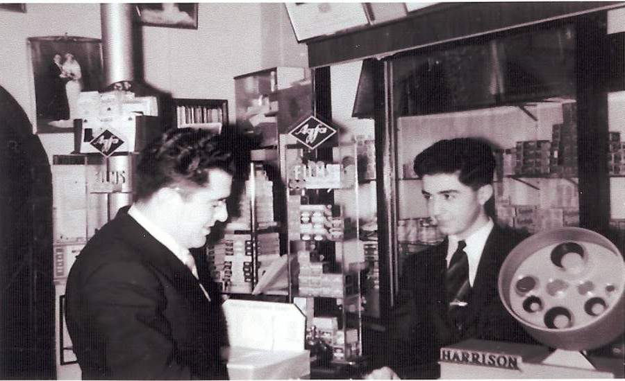 The second family generation of the Arax Photographic Company, brothers Edward Maserjian (left) and  Amedee John Maserjian (father of Steven Amedee Maserjian)