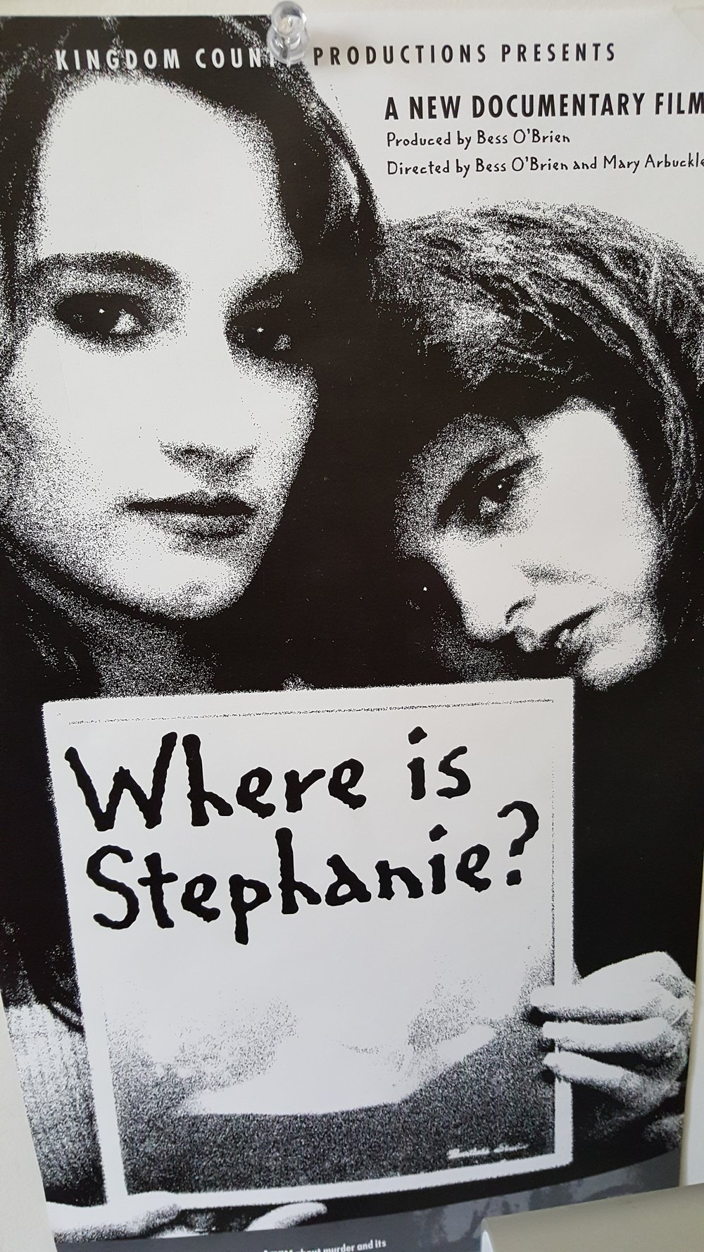 Where is Stephanie?