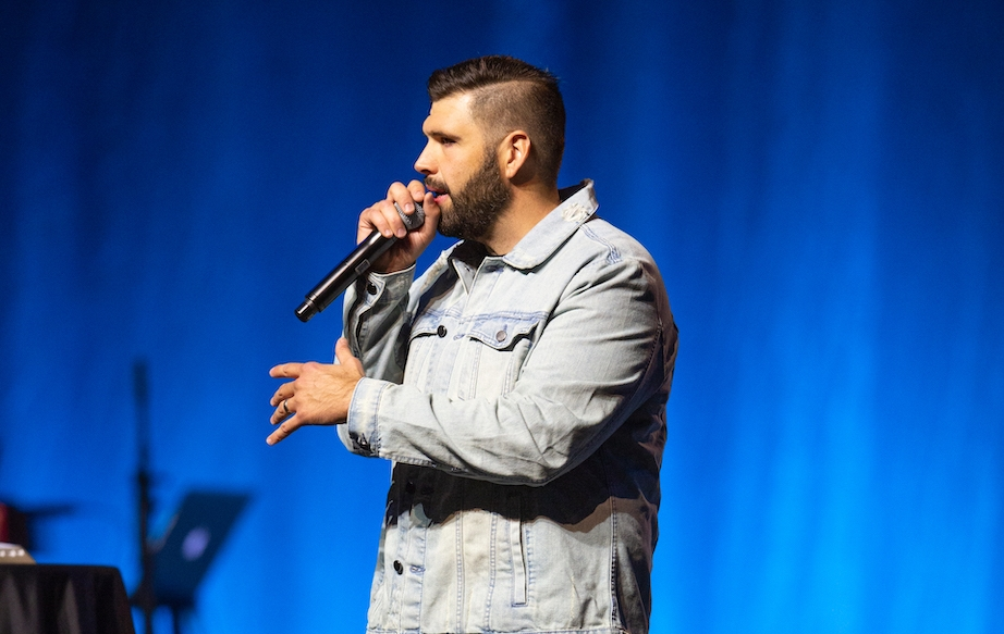 Chris Overstreet Preaching