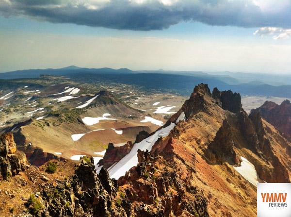 A gnarly mountain -