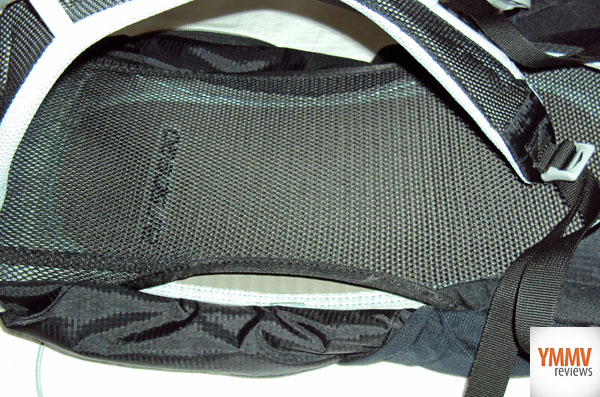 Mesh Back for breathability -