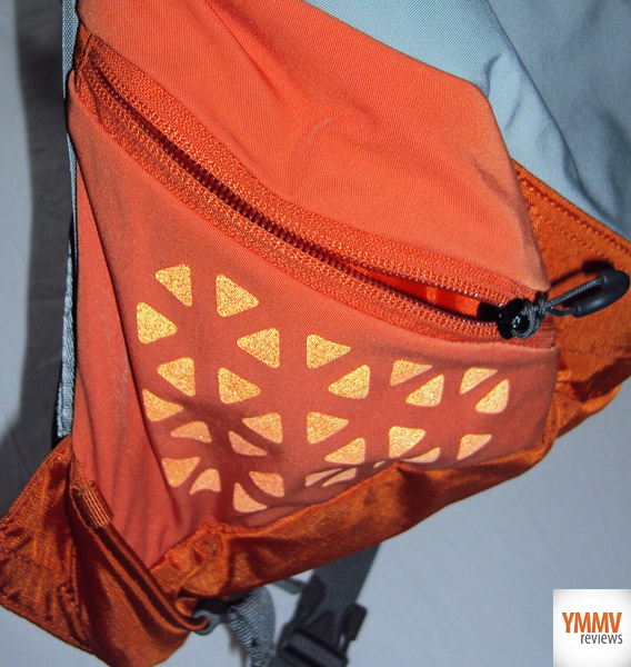 Zippered Side Pocket -
