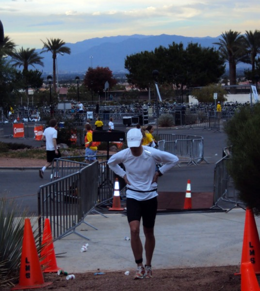 Not Feeling Good at the Run Start -