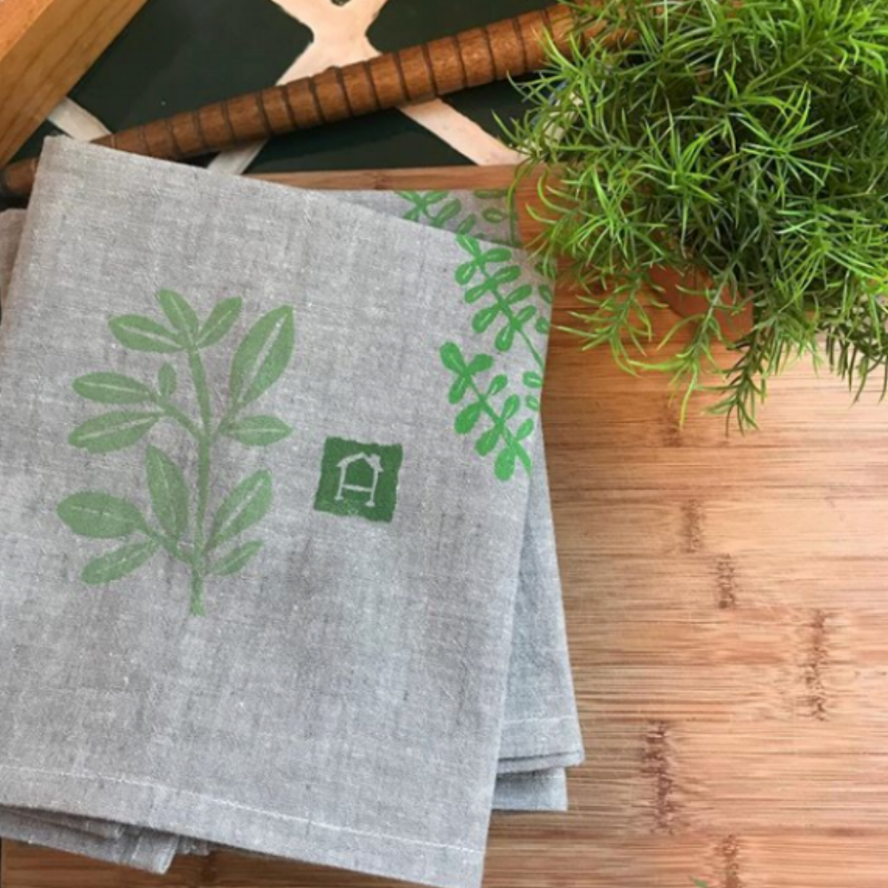 Tea Towels for  Home Again, Home Again