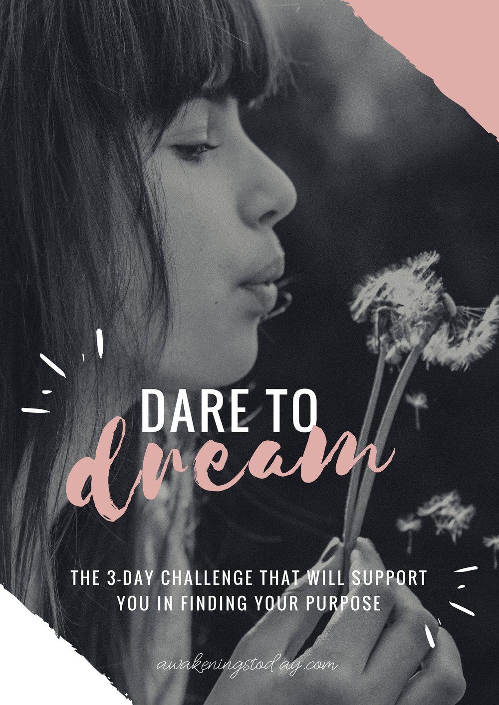 Download Your Workbook Here - LET´S DREAM BIG!