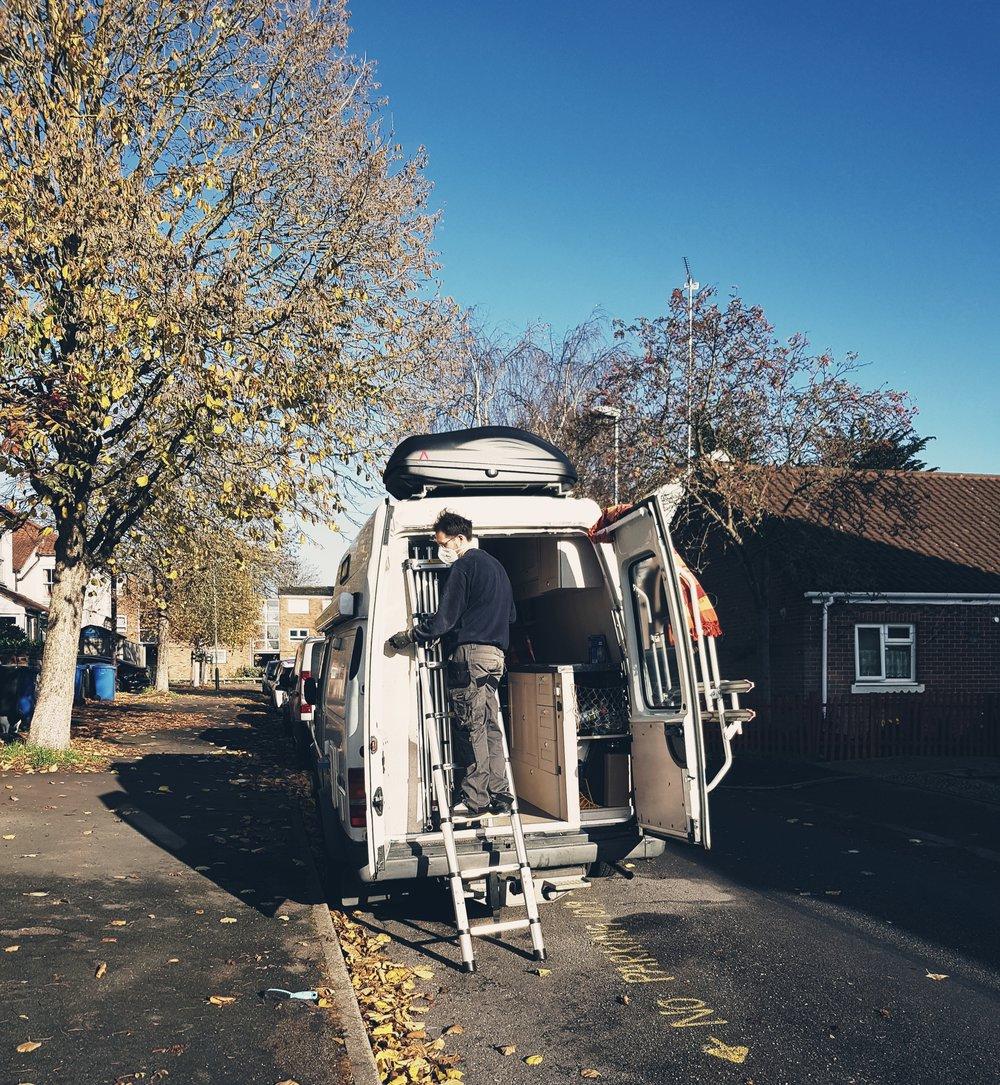 Challenge after Challenge, Fixing the Van .jpg
