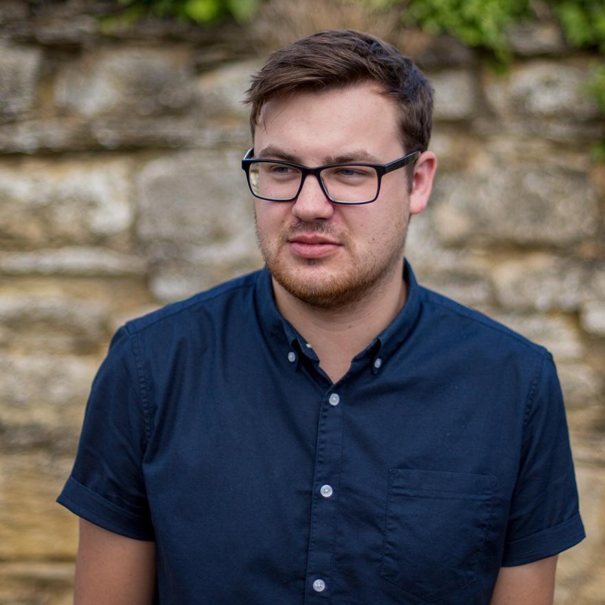 Tom Sampson - Digital Media Assistant