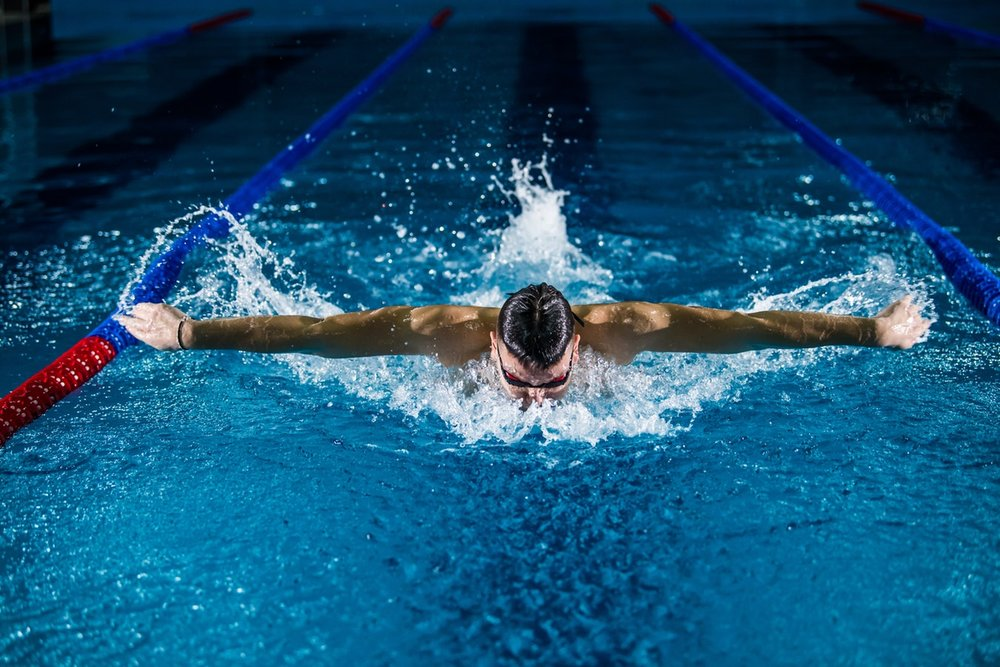 Olympic swimming 2020