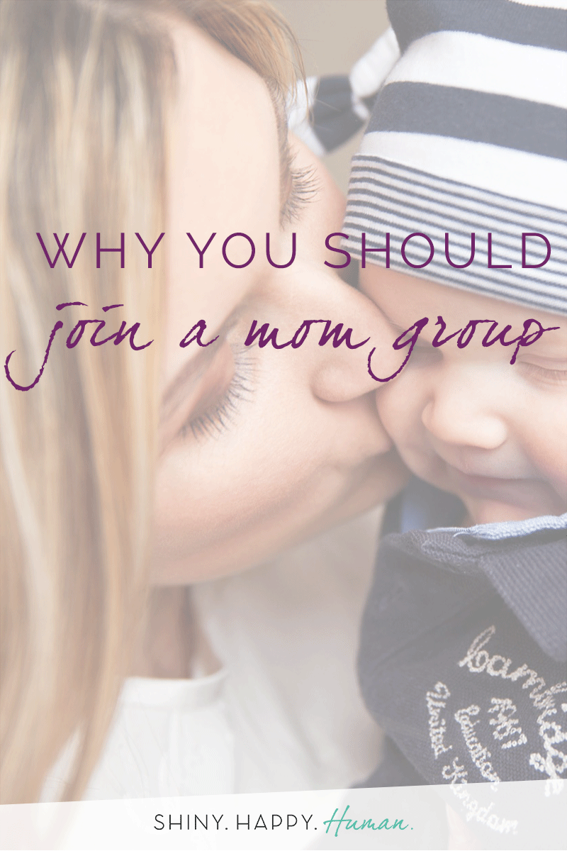 Why You Should Join a Mom Group