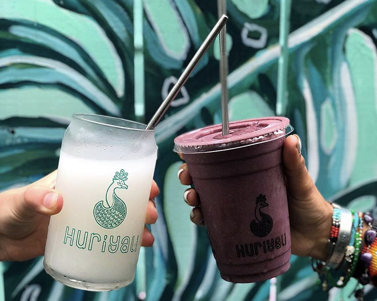 Huriyali  will be providing us will some delicious organic cold press juices and raw bar snacks!