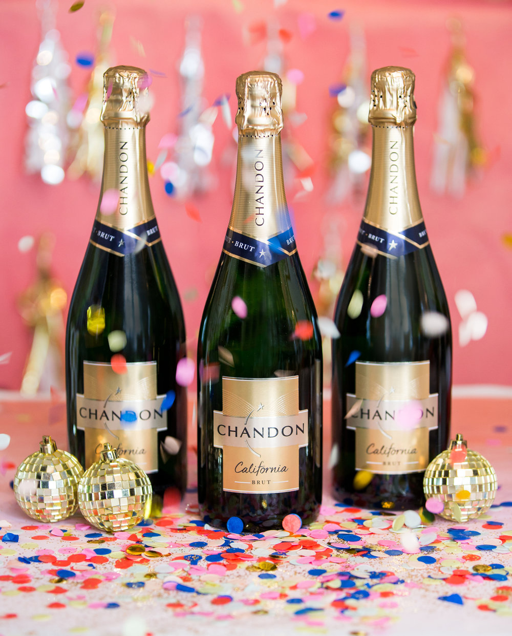 All our ladies will be delicious Chandon sparkling wine all night long! If you haven't tried Chandon yet, YOU WILL notice the difference. Trust us.