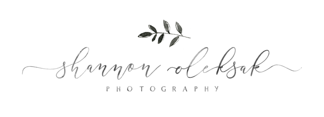 Shannon Olesak  is our incredible event photographer and she also specializes in family portraits (she does all mine!).