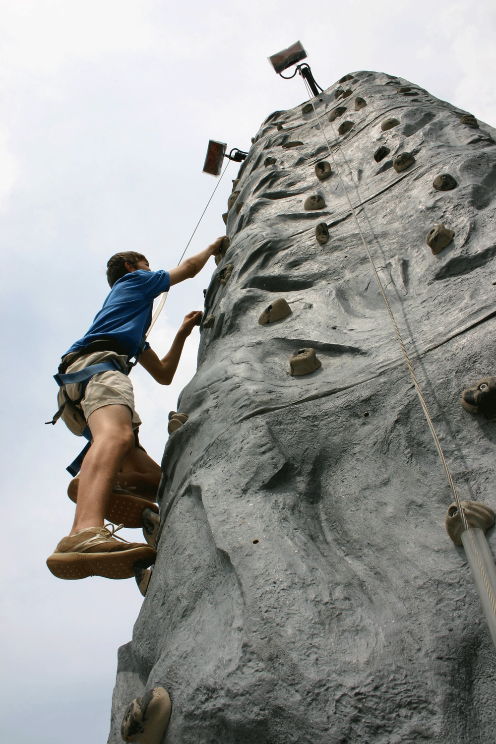 The Rock Climbing Wall