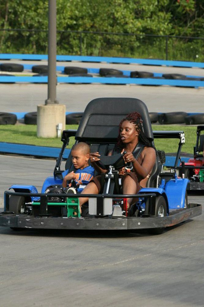 Speed Zone Double Go Karts