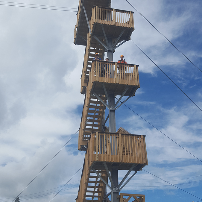 The Drop - Adventure Zone's Drop is a thrill that can't be missed - a 60 ft. leap. Minimum 48