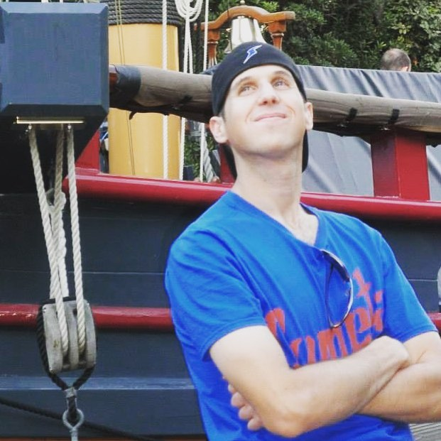 #TBT to our homie Jer D rockin the Superman colors on a pirate ship ☠️⚓️ . Send us pics in your Cometa shirt! We'll post'em 😆 . . . . . . . . . #poppunk #newmusic #NewHaven #superman #pirate #ship #disneyworld #disneyland #anchor