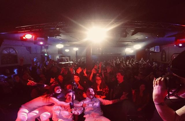 #fbf to last week when we played for this amazing crowd! Thanks again to @spaceballroom @iconforhire @couragemylove @makeoutofficial and all our new friends! Much love! #live #music #rock #poppunk #ct #connecticut