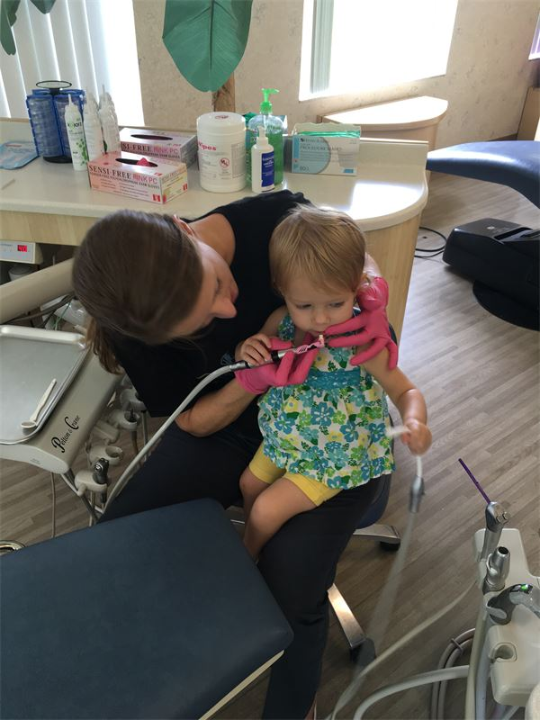 Anna's First Visit