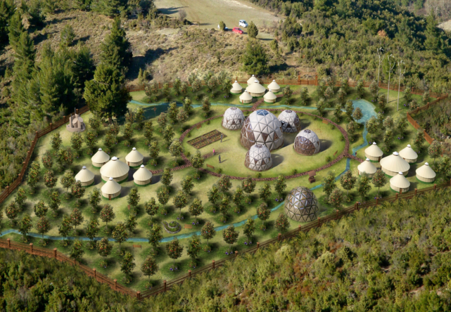 Ecovillage - Dome residences.png