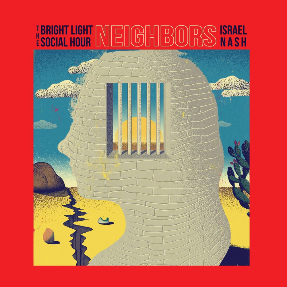 purchase  here   Neighbors: An EP written with literal embodiment of joyous southern acid teddy bear Israel Nash. Recorded at both their studios.