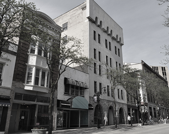 EXISTING STATE STREET VIEW