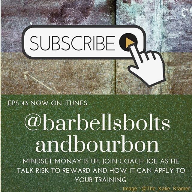 Mindset Monday is up! Happy October everyone! #barbellsboltsandbourbon #train #build #enjoy #fitness #podcast #tunein #mindset #monday #makeithppen #episode #keepgoing #record #fitness
