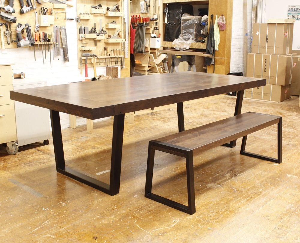 Custom dining room table