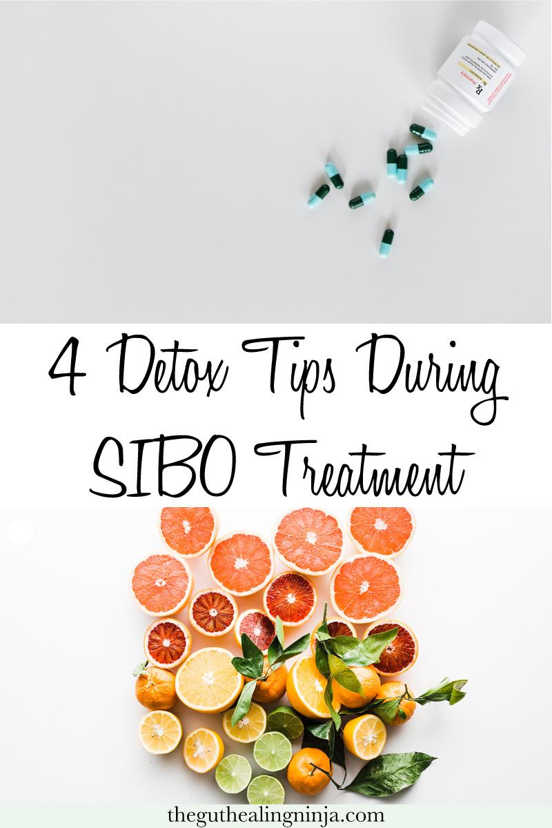 4 Detox Tips During SIBO Treatment