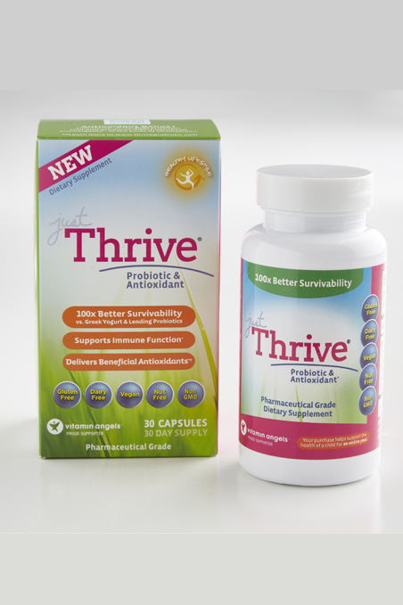 Just Thrive Probiotic - A soil-based probiotic that is proven to heal leaky gut.