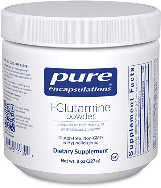 L-Glutamine Powder - An essential amino acid that has been proven to help heal leaky gut.