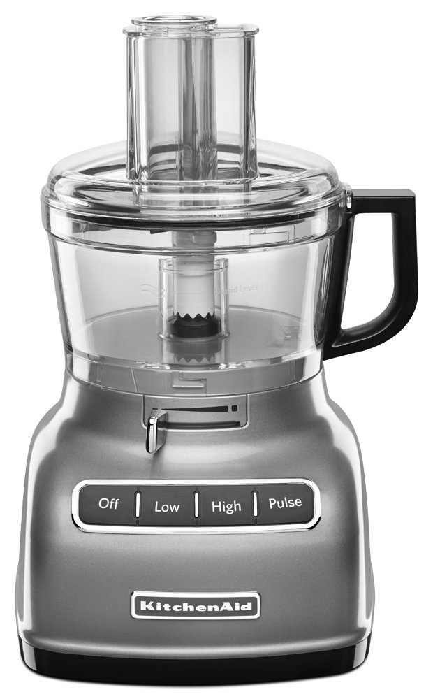 Food Processor - My food processor makes chopping all those vegetables enjoyable again… because it does it for me.